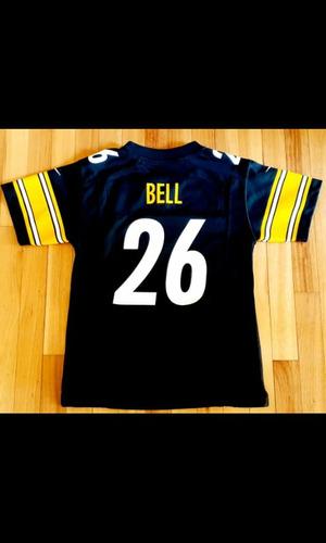 NBJBK Camiseta de Football de la NFL Pittsburgh Steelers 7# 19# 30# 90# Camiseta Deportiva de f/útbol de Manga Corta con Top Deportivo Bordado,B-7,XL