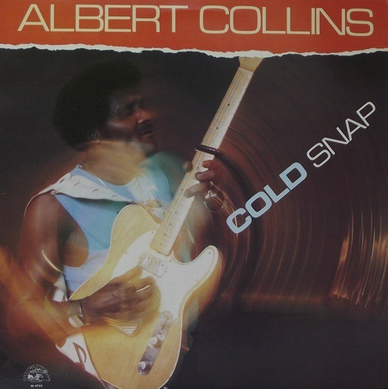 Lp Albert Collins - Cold Snap (novo)