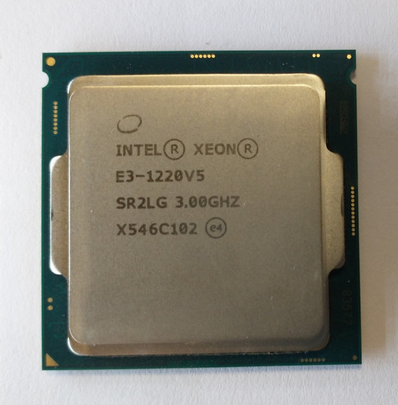 Processador Xeon E3-1220 V5 Sr2LG 3.0ghz X546c102 Dell 230