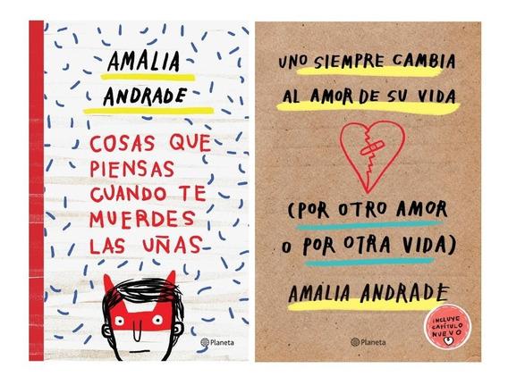 Pack Amalia Andrade - Cambia Al Amor + Cosas Que Piensas