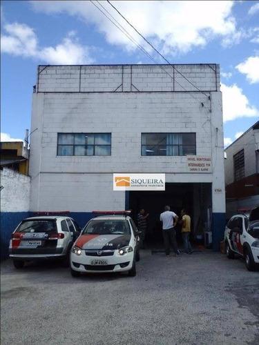 Barracão Comercial À Venda, Jardim Simus, Sorocaba. - Ba0009