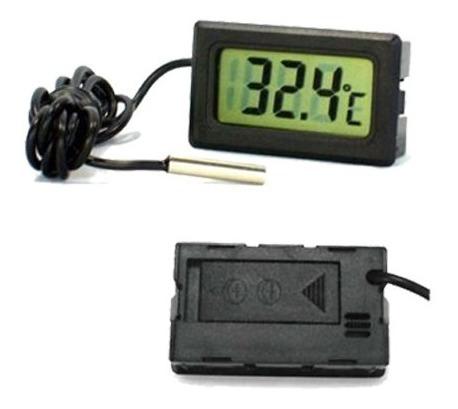 Termômetro Digital Em Lcd Com Sensor Para Casemod Tuning