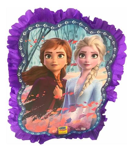 Imagen 1 de 4 de Decoración Piñata Frozen Elsa A Silueta Imagen Fiesta Cumple