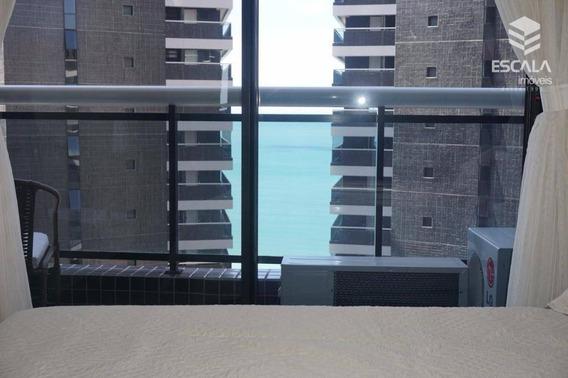 Apartamento 1 Quarto À Venda, Landscape Beira Mar, 45m², Vista Mar, Mobiliado Meireles Fortaleza/ce - Ap1099