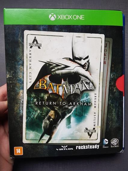 Combo 2 Em 1 - Jogo (batman Return To Arkham) E Blu-ray