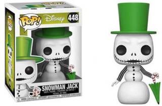 Funko Pop Snowman Jack De Nightmare Before Christmas