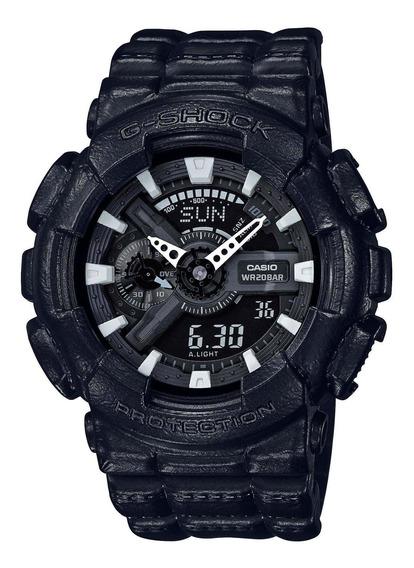 Relógio G-shock Ga-110bt-1a Design Allblack Preto