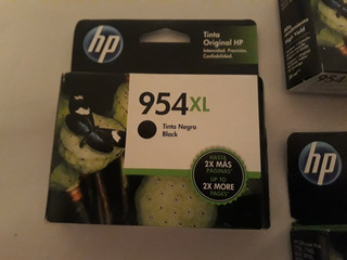 Tinta Hp 954, Pack Tres Colores