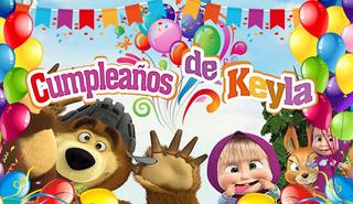 Tarjetas Invitacion Cumpleaños Masha Y El Oso En Mercado