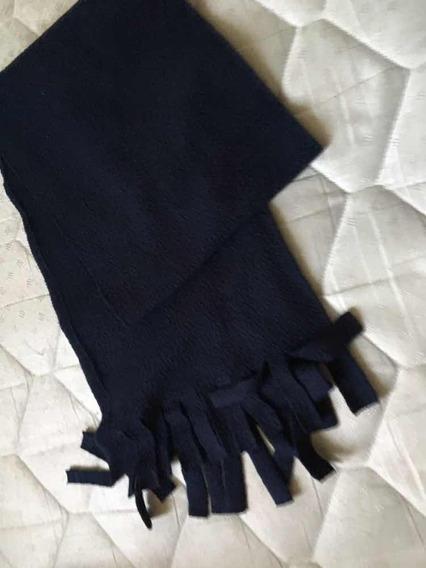 Bufanda Polar Azul
