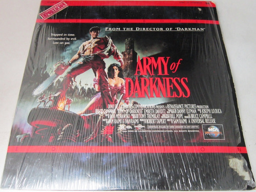 Bruce Campbell - Army Of Darkness Ld