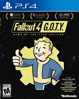 Fallout 4 Game Of The Year Edition Ps4 Nuevo Sellado