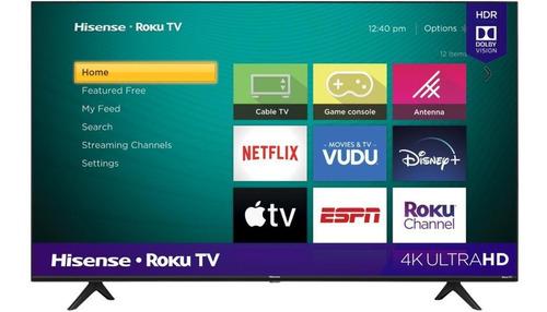 Imagen 1 de 1 de Televisor Hisense 55  Smart Tv 4k Uled Roku Tv Hdr
