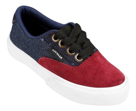 Zapatillas Airwalk Junior Rojo Denin Liquidación
