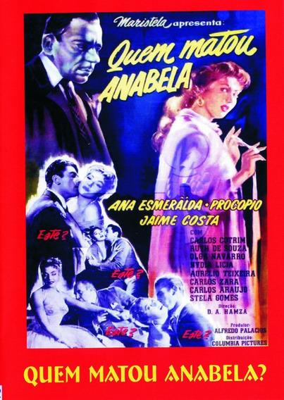 Dvd - Quem Matou Anabela? - 1956 - P&b