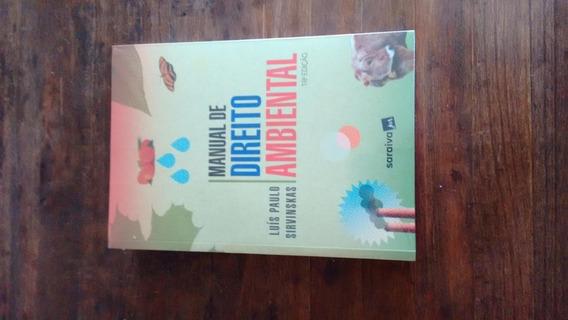 Manual De Direito Ambiental - 18ª Edição De 2020 - Novo