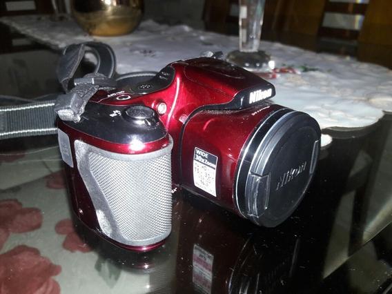Câmera Nikon L820 Impecável. Rio De Janeiro Vir Buscar