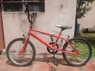Bicicleta Rodado 20 Bmx Cross