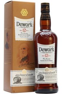 Whisky Dewars 12 Años 750ml - Perez Tienda -