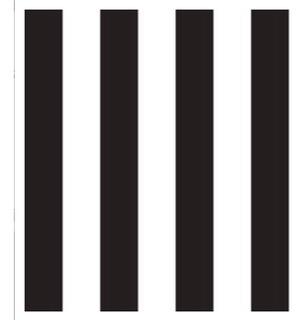 Papel Muresco Vinilizado Zen 3481-1 Rayas Blanco Y Negro