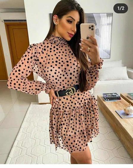 Vestido Tule Rodado Sexy Transparência Balada Boneca Princes