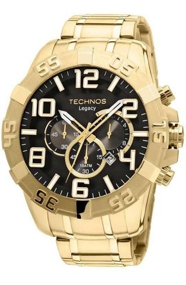 Relógio Masculino Technos Dourado Classic Legacy Os20im/4p
