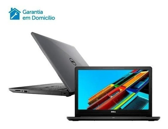 Notebook Dell Inspiron Intel Core I5 4gb 1tb Tela 15.6