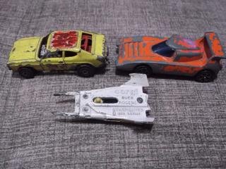 Antiguo Lote De Carritos Vehiculos Corgy Toys De Coleccion