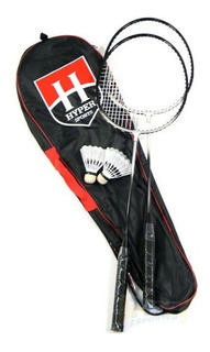 Kit Badminton Hyper Sports 2 Raquetes + 2 Petecas + Capa