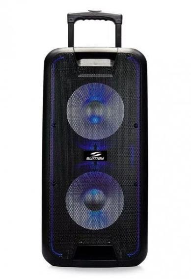 Caixa Amplificada Acustica Titan 600w Rms Bivolt- Sumay - 60