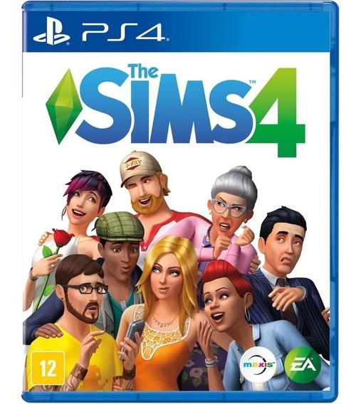 Jogo The Sims 4 Ps4 Midia Fisica Game Original Lacrado Nacional Promoção
