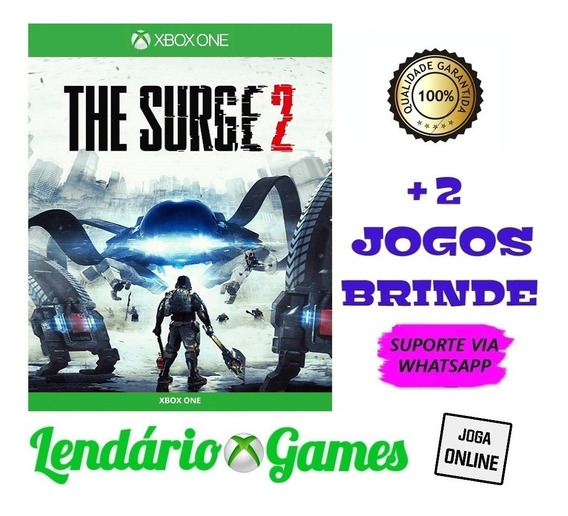 The Surge 2 X One M. Digital + 2 Brindes