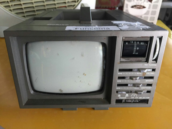 Micro Tv Antiga Sem Funcionar No Estado Para Decorar