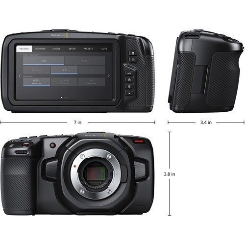 Blackmagic Pocket Camera 4k - Pronta Entrega