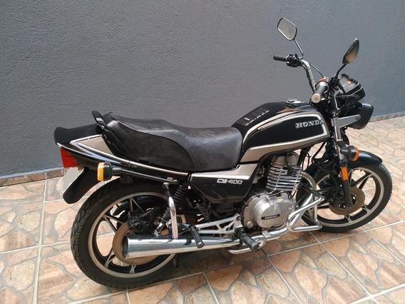 Moto Honda Cb 400 - 1984