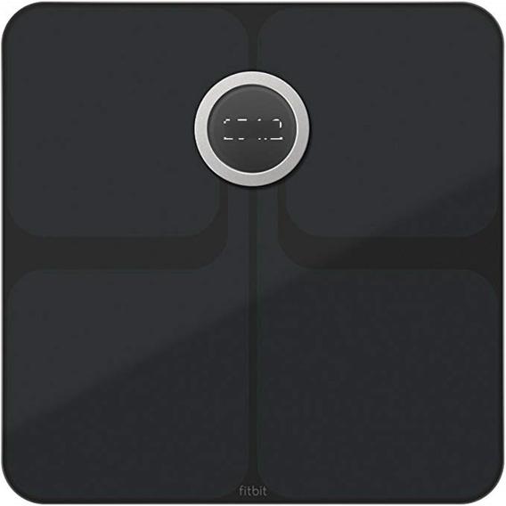 Bascula Inteligente Fitbit Aria Wifi Nuevo Modelo Black