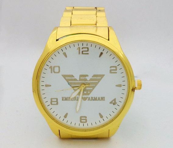 Relógio Emporio Armani Dourado - 1º Linha