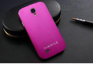 Capa Para Celular Samsumg S4 I9500 Alumínio Rosa