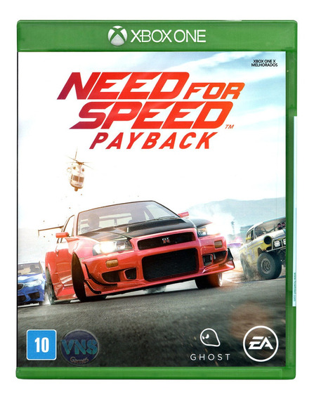 Need For Speed Payback - Xbox One - Mídia Física - Lacrado