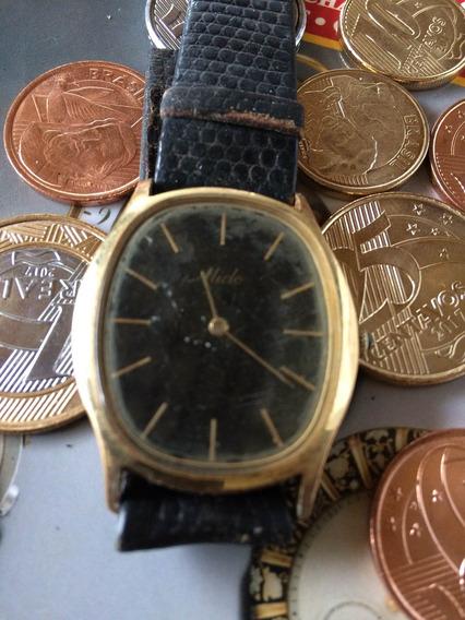 Relógio Mido Plaque (no Estado) Leia Descrição