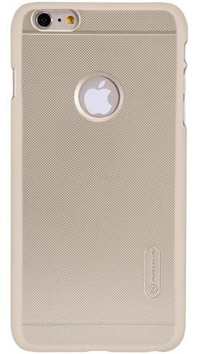 Imagen 1 de 6 de Carcasa Protector Nillkin Frosted Shield iPhone 6/6s, Dorado