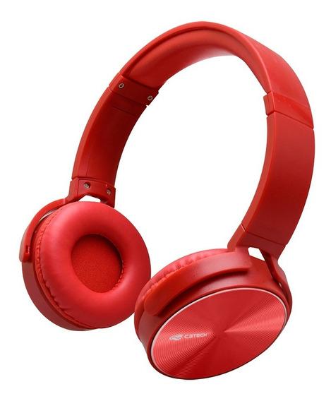 Fone De Ouvido C/microfone Ph-110rd Vermelho C3 Tech