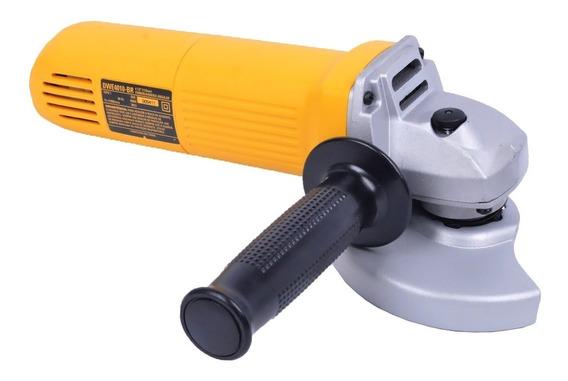 Esmerilhadeira angular DeWalt DWE4010 de 50Hz/60Hz amarela 220V