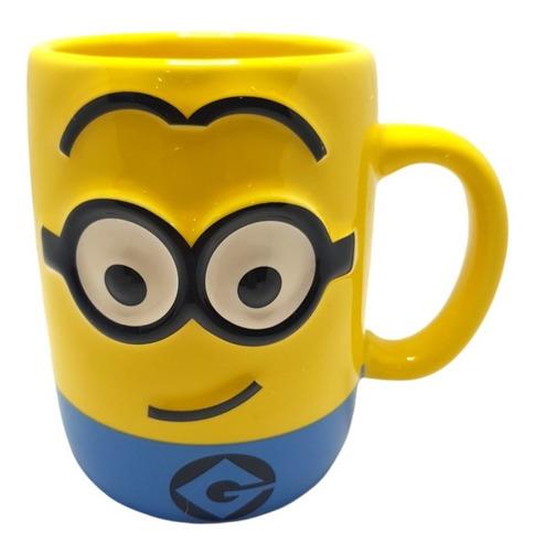 Imagen 1 de 5 de Mug Taza Pocillo 3d Minions Mi Villano Favorito