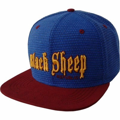 Boné Black Sheep (blue, Red.)
