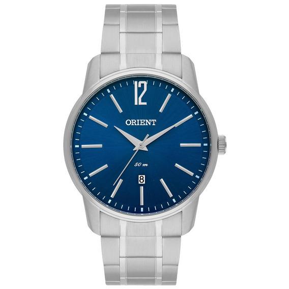 Relógio Orient Masculino Mbss1268 D2sx Prata