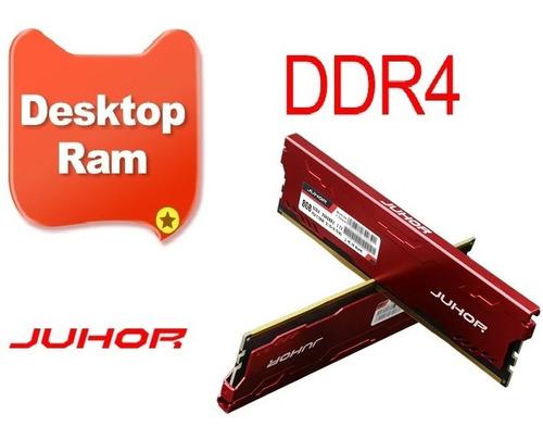 Imagem 1 de 5 de Memória Ram Ddr4 16gb 2x8gb 'juhor' Gamer Pc4-19200 2400mhz