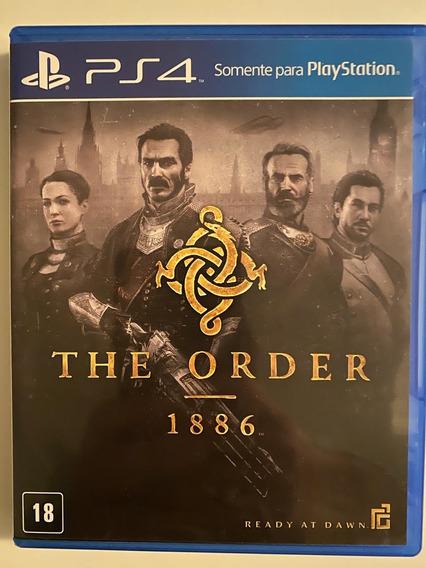 The Order 1886 Ps4 Playstation Mídia Física Dublado Nacional