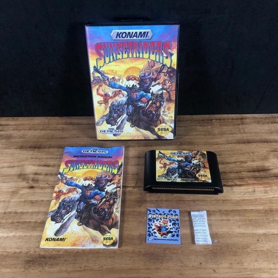 Sunset Riders 100% Original Na Caixa P/ Megadrive!! Raro!!