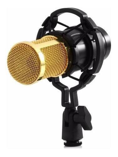 Microfone Condensador Xlr Bm800,cabo+aranha+filtro-top !